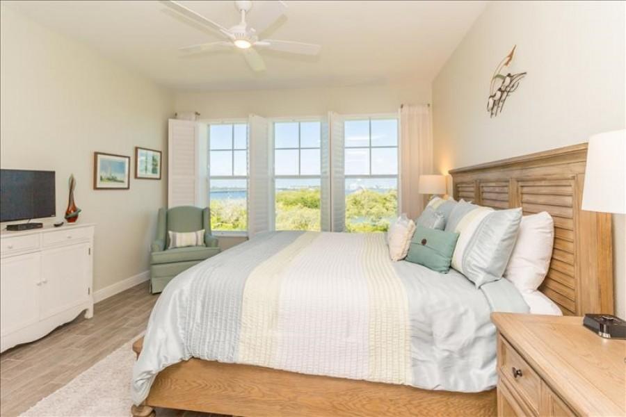 Master Bedroom Water View 2