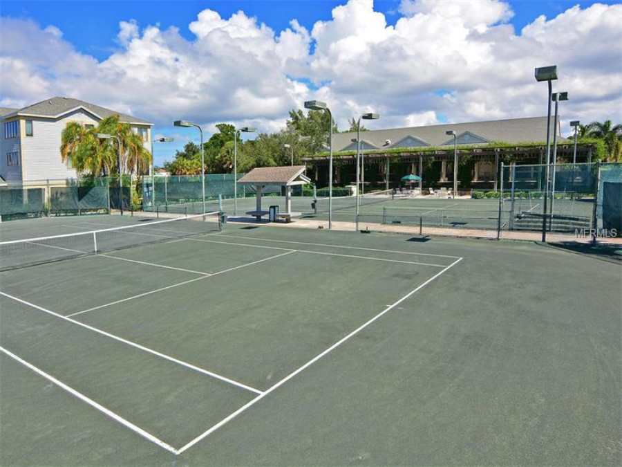 Tennis and clubhouse