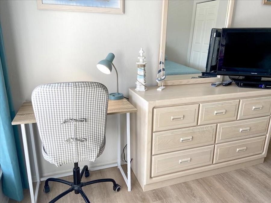 Writing desk in Guest Bedroom