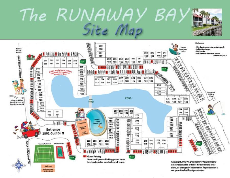 Runaway Bay Map