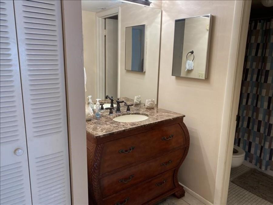 Updated vanity