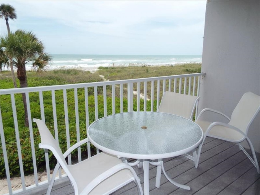 Beachside balcony