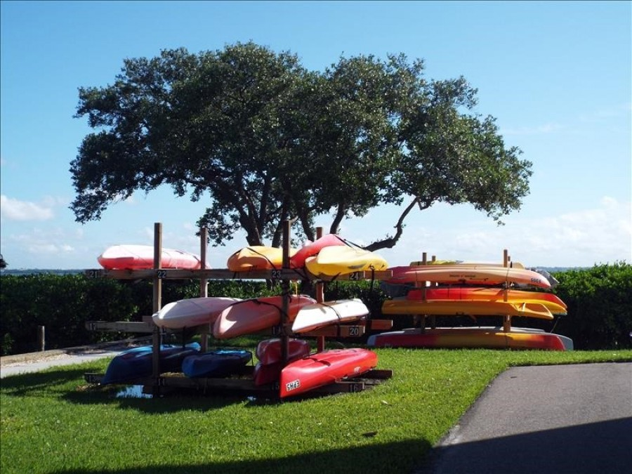 Kayak Storage